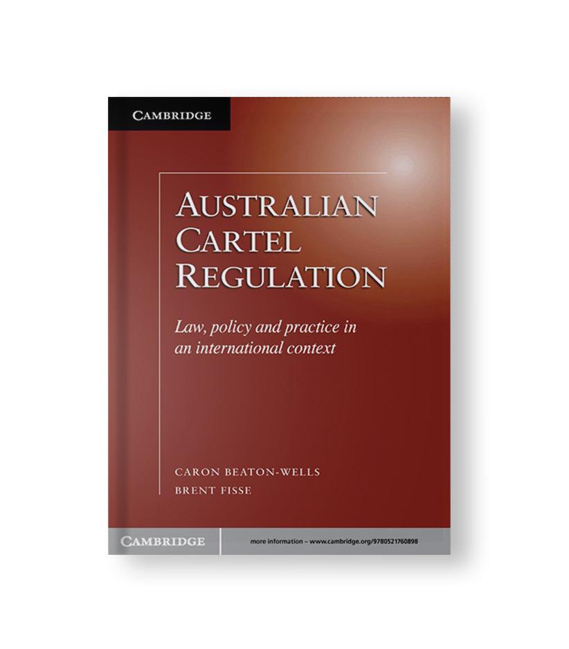 Australian Cartel Regulation Book