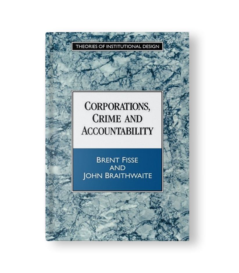 Corporations, Crime and Accountability Book